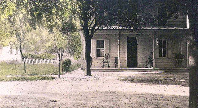 The future Ringtown Area Library, Circa 1900