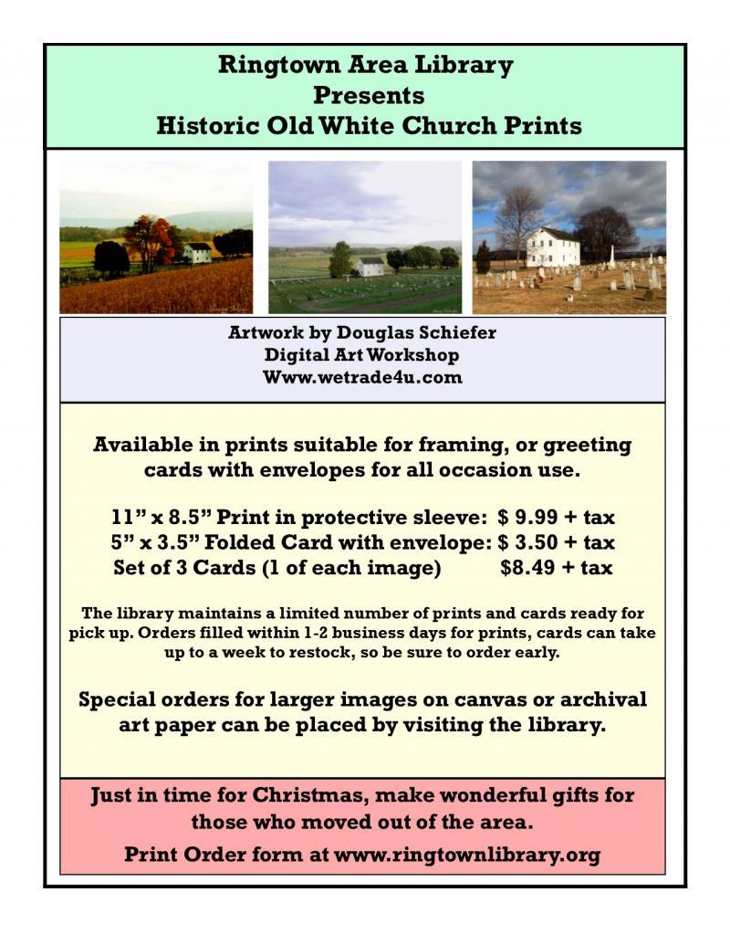 Old White Church art prints