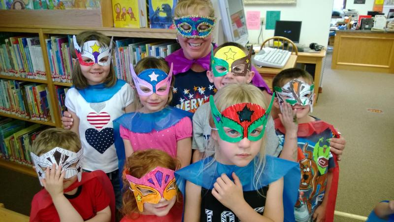 Pint-sized Super Heroes invade Ringtown Area Library