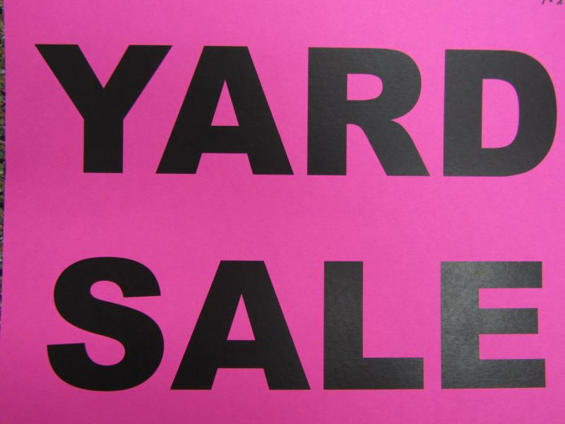 Ringtown Community Yard Sale