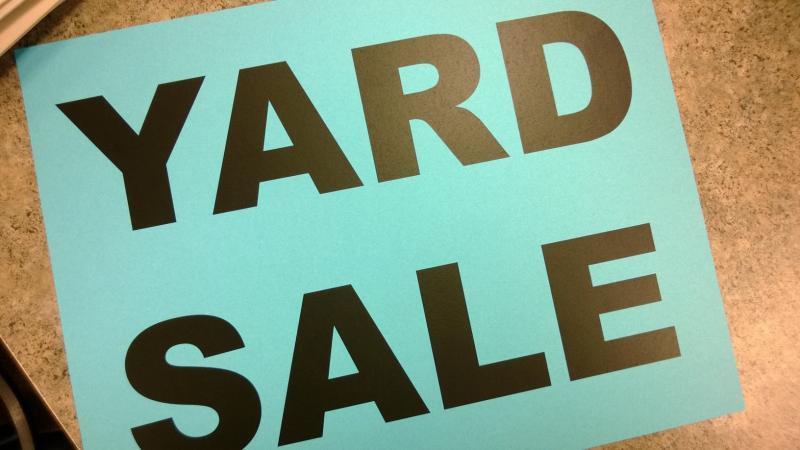 Ringtown Yard Sale